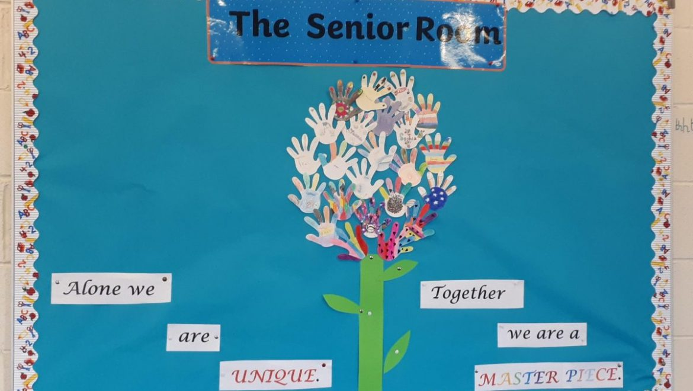 The Senior Room – A Busy First Term